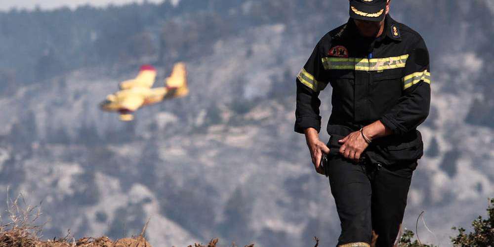 Προσοχή: Πολύ υψηλός κίνδυνος πυρκαγιάς το Σάββατο