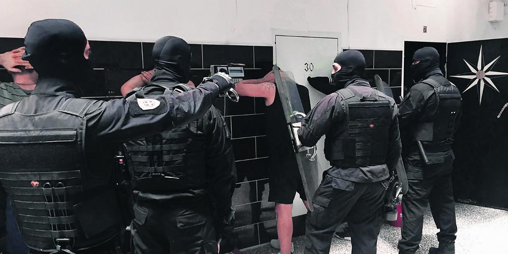 Έρευνα στις φυλακές Χαλκίδας - Βρέθηκαν ναρκωτικά και κινητά τηλέφωνα