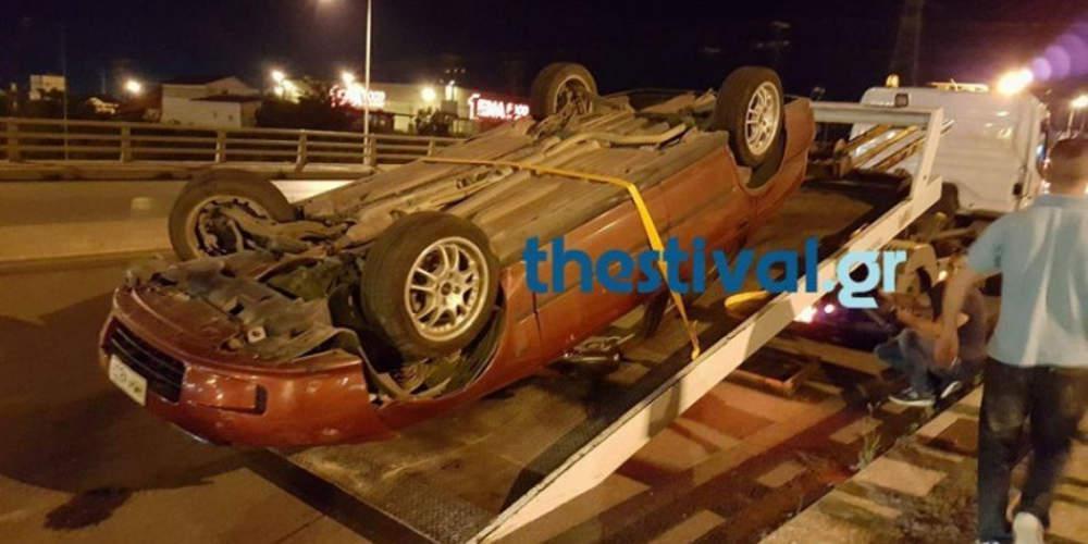 Τροχαίο δυστύχημα με έναν νεκρό τα ξημερώματα στον Λαγκαδά