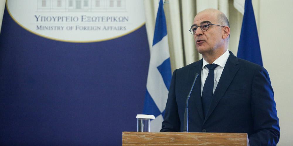 Δένδιας: Ελλάδα και Αλγερία ενάντια σε κάθε είδους ξένη εμπλοκή στη Λιβύη