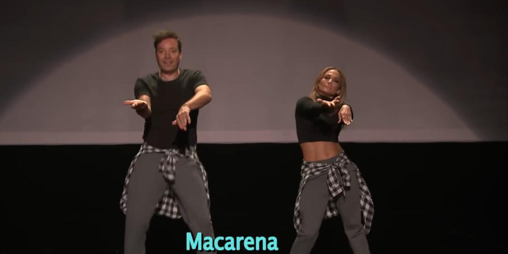 Τζίμι Φάλον και Τζένιφερ Λόπεζ χορεύουν όλους τους χορούς που μας κόλλησαν από βίντεο κλιπ