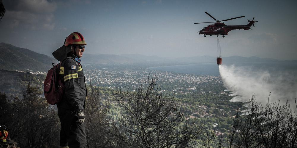 Προσοχή: Πολύ υψηλός κίνδυνος πυρκαγιάς την Πέμπτη - Σε ποιες περιοχές [χάρτης]