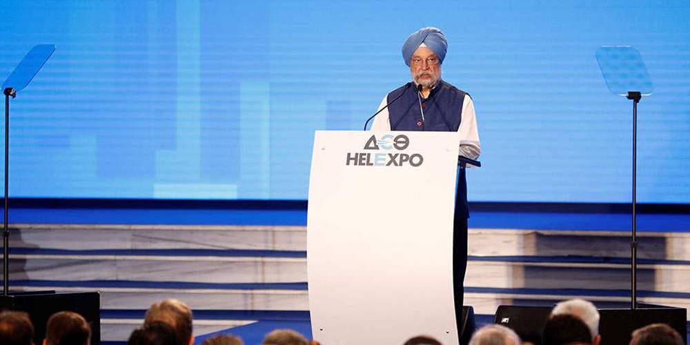 Ινδός υπουργός Εμπορίου: Πολύ σημαντική χώρα η Ελλάδα με στρατηγική θέση