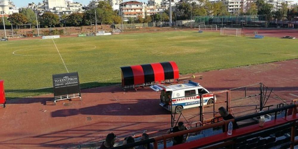 Σε κλίμα οδύνης η κηδεία του 70χρονου που έχασε τη ζωή του στο γήπεδο της Καλαμαριάς