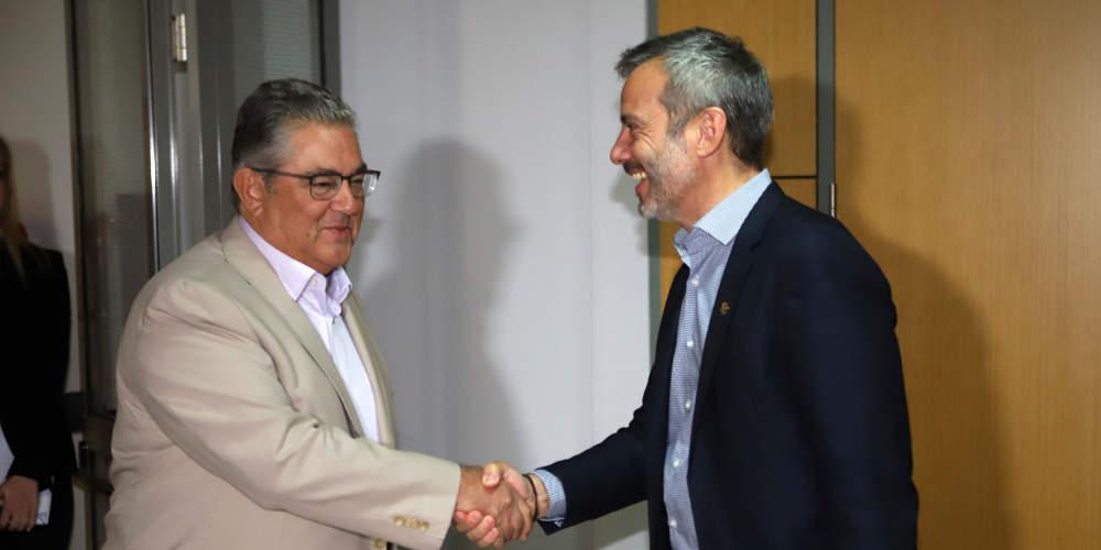 Συνάντηση Κουτσούμπα-Ζέρβα στη Θεσσαλονίκη – Τι είπαν για το μετρό