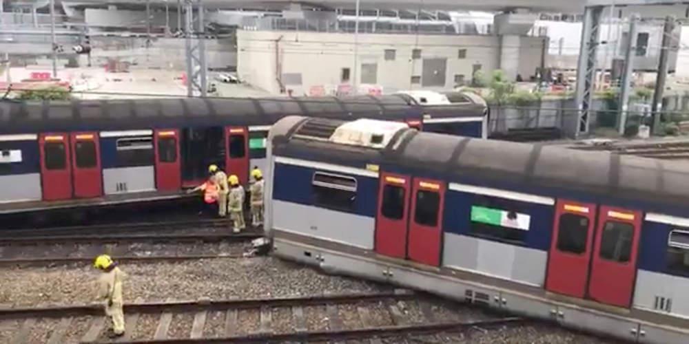 Εκτροχιάστηκε συρμός του μετρό στο Χονγκ Κονγκ – Οκτώ ελαφρά τραυματισμένοι