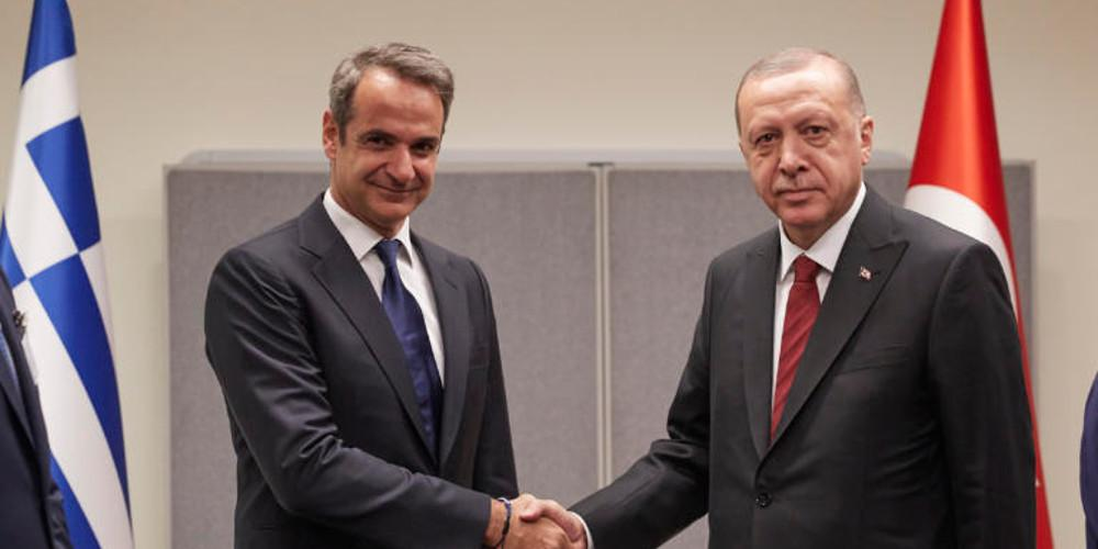 Κρίσιμη συνάντηση Μητσοτάκη-Ερντογάν στο Λονδίνο – Τι θα θέσει ο Έλληνας πρωθυπουργός
