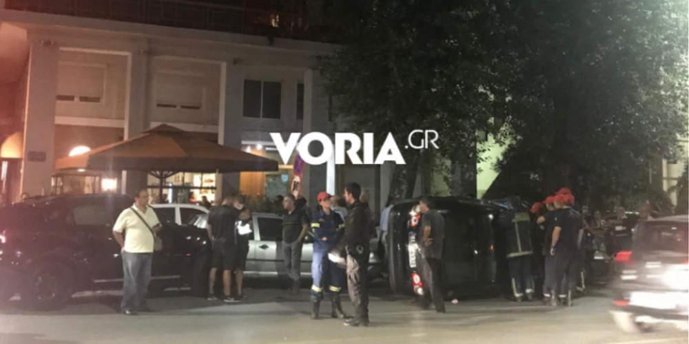 Χαμός στη Θεσσαλονίκη: Αυτοκίνητο τράκαρε με άλλα έξι στην παραλιακή