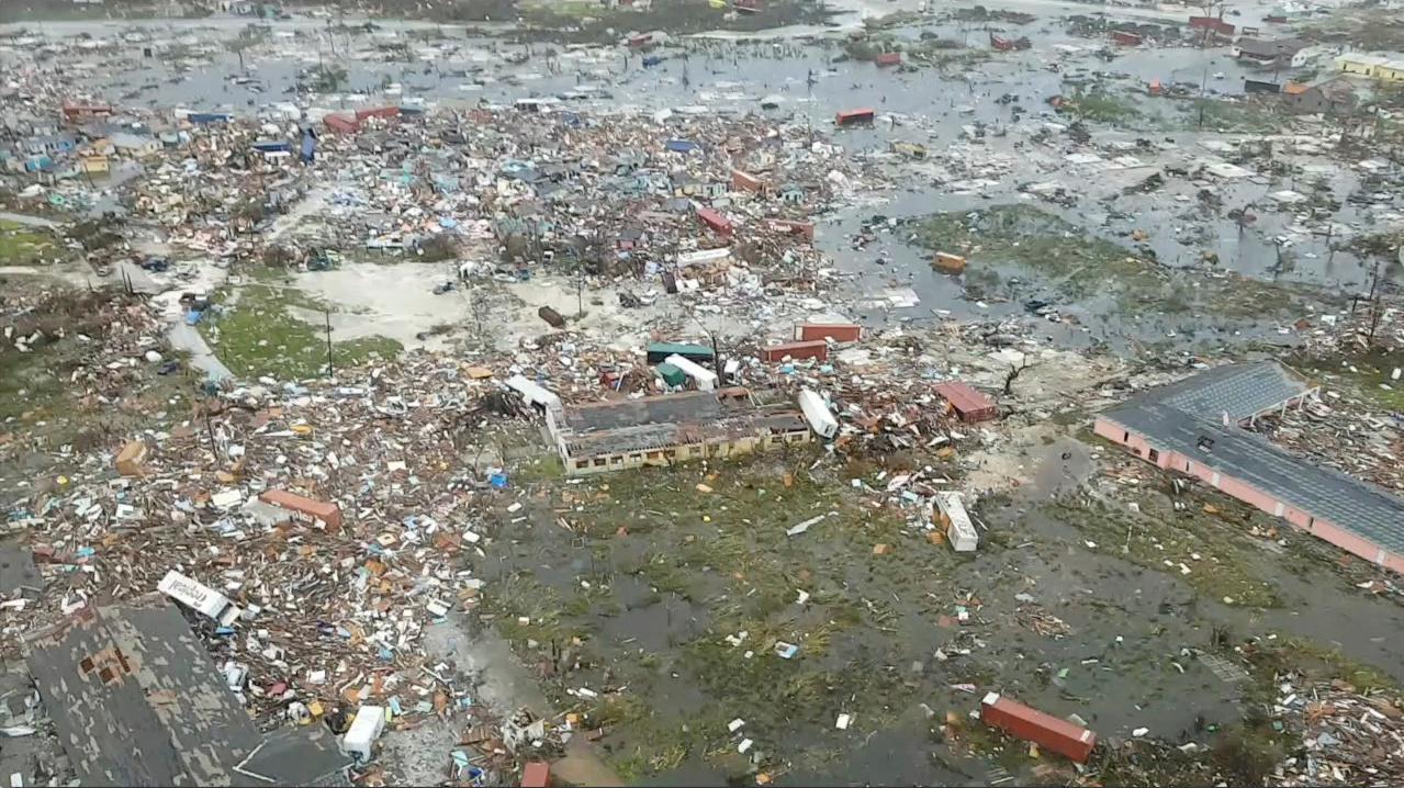 Εικόνες αποκάλυψης στις Μπαχάμες από τον τυφώνα Ντόριαν: Στους επτά οι νεκροί
