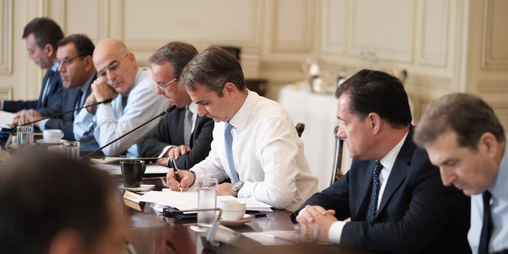 Συνεδριάζει την Πέμπτη το πρωί το υπουργικό Συμβούλιο – Αυτή είναι η ατζέντα