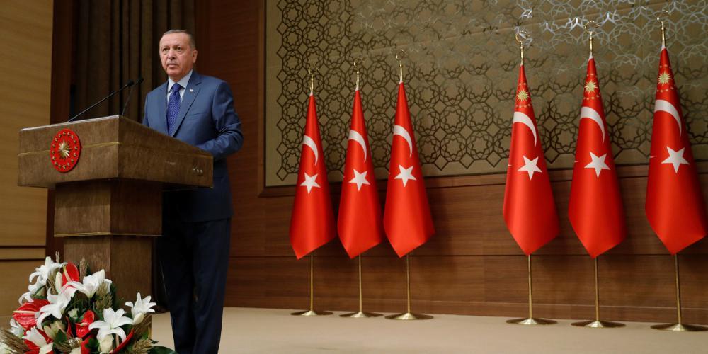 Ερντογάν: Θα εντατικοποιήσουμε τις έρευνες και γεωτρήσεις μας στην Aν. Μεσόγειο
