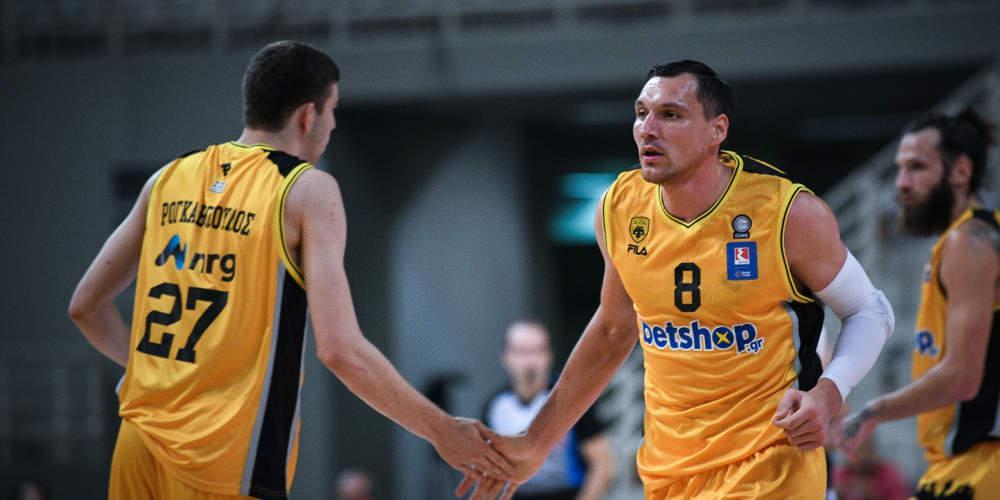 Basketball Champions League: Δύσκολη νίκη για ΑΕΚ μέσα στην Πολωνία επί της Άνβιλ με 79-77