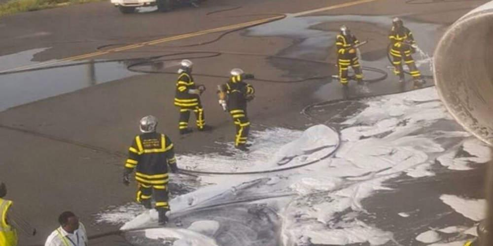 Θρίλερ στον «αέρα»: Αναγκαστική προσγείωση αεροσκάφους λόγω πυρκαγιάς στον κινητήρα
