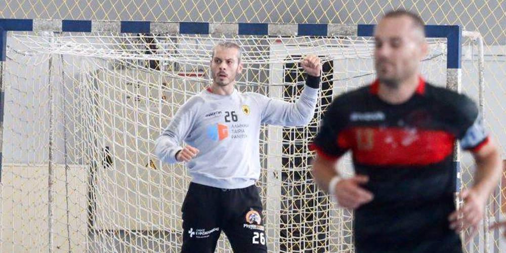 Τρίμηνη διακοπή συμβολαίου στον Τούρκο παίκτη χάντμπολ της ΑΕΚ που χαιρέτισε στρατιωτικά