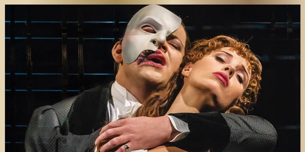 The Phantom of the Opera του Andrew LIoyd Webber στοΜέγαρο Μουσικής Θεσσαλονίκης