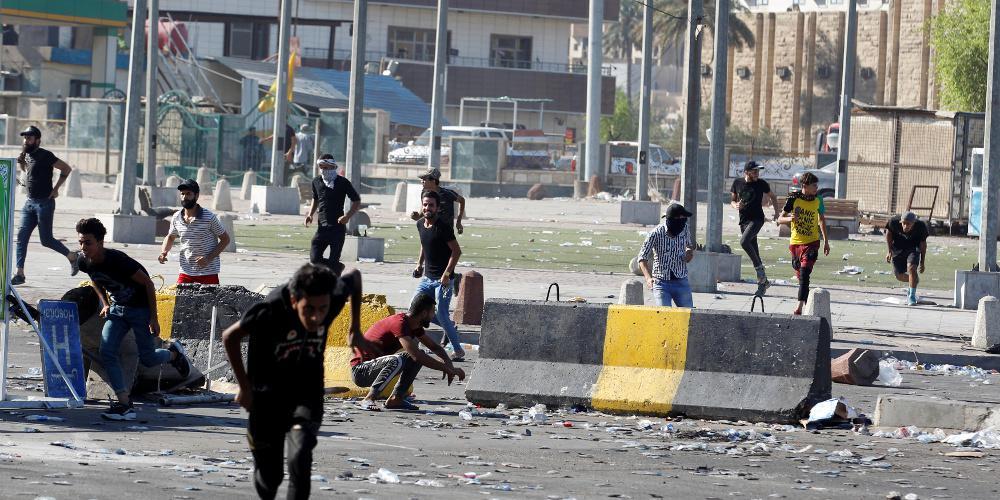 Τουλάχιστον 13 νεκροί στο Ιράκ από τις διαδηλώσεις το τελευταίο 24ωρο
