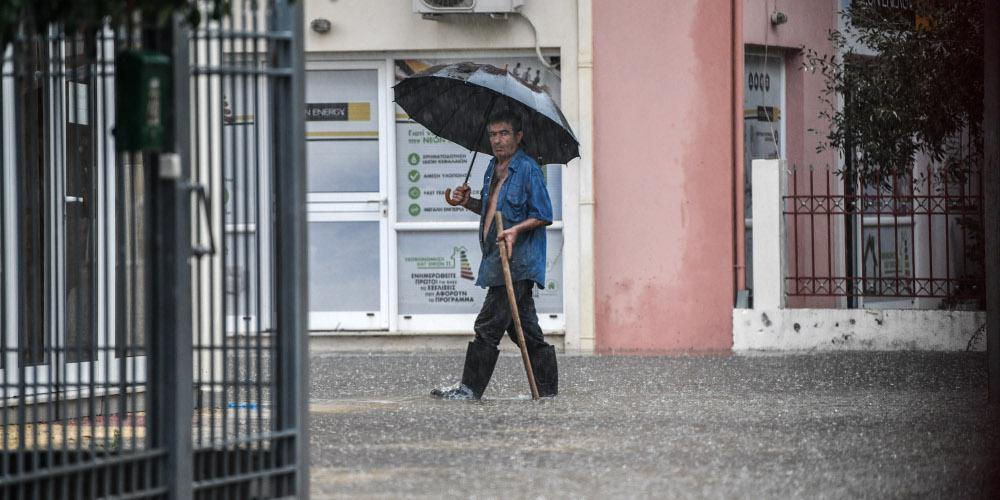Πρόγνωση καιρού: Βροχές, πτώση θερμοκρασίας και ισχυροί άνεμοι την Τετάρτη