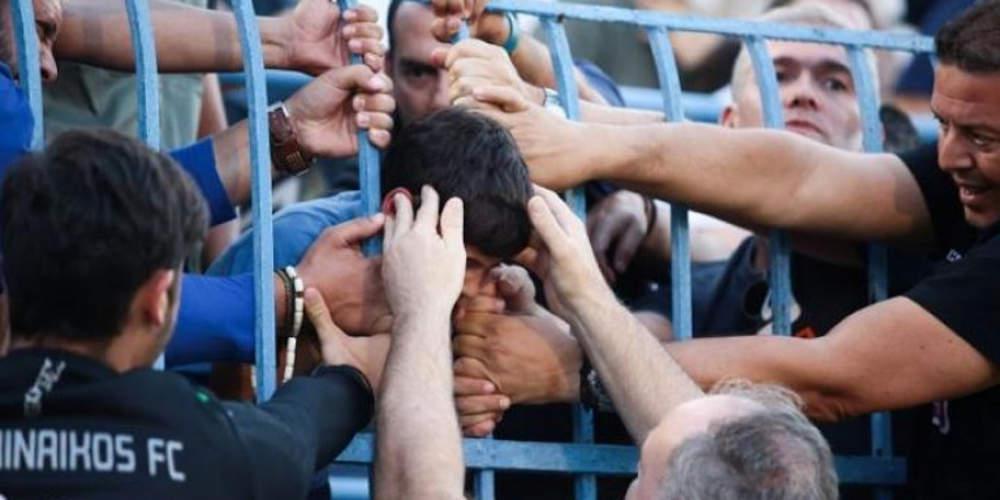 Απίστευτο: Σφήνωσε το κεφάλι 10χρονου σε κάγκελα στη Ριζούπολη