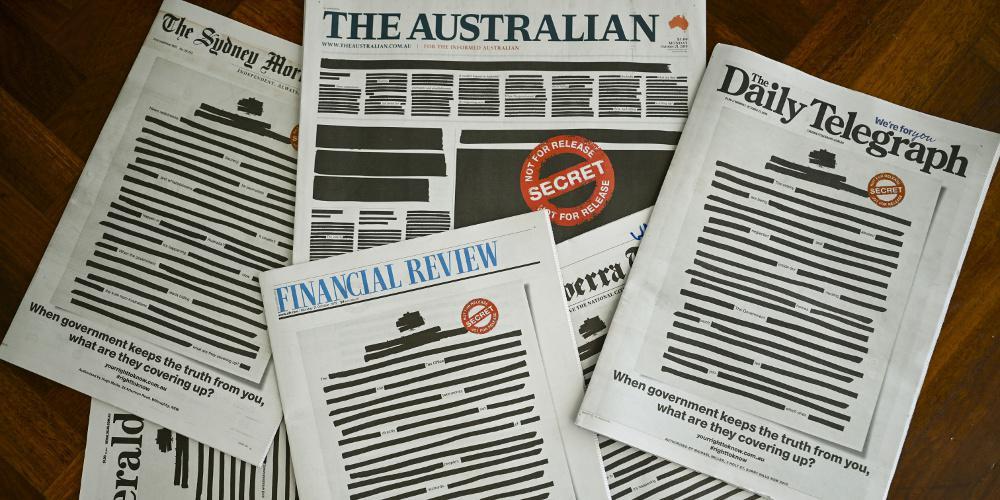 Με μαύρα πρωτοσέλιδα κυκλοφόρησαν οι εφημερίδες στην Αυστραλία