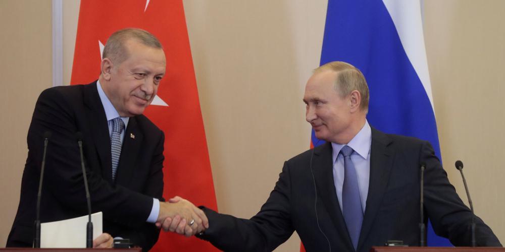 Τι συζήτησαν τηλεφωνικά Πούτιν - Ερντογάν για Ιντλίμπ και Λιβύη