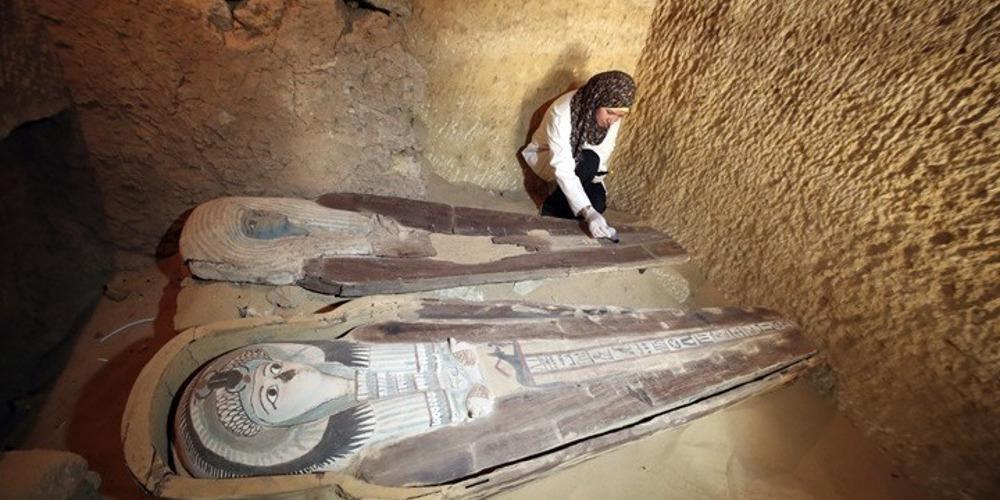Τριάντα σαρκοφάγοι του 10ου π.Χ. αιώνα ανακαλύφθηκαν κοντά στο Λούξορ!