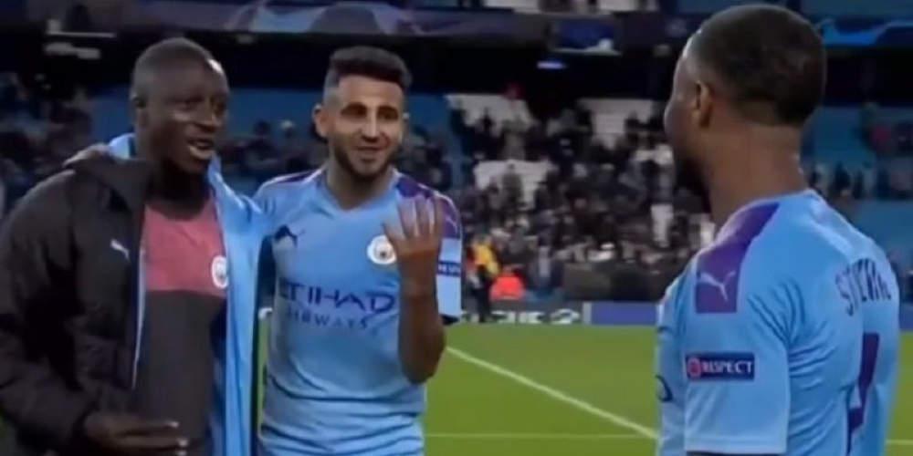 Champions League: Μεντί και Μαχρέζ τρόλαραν τον Στέρλιγνκ γιατί… δεν έβαλε 4 γκολ [βίντεο]