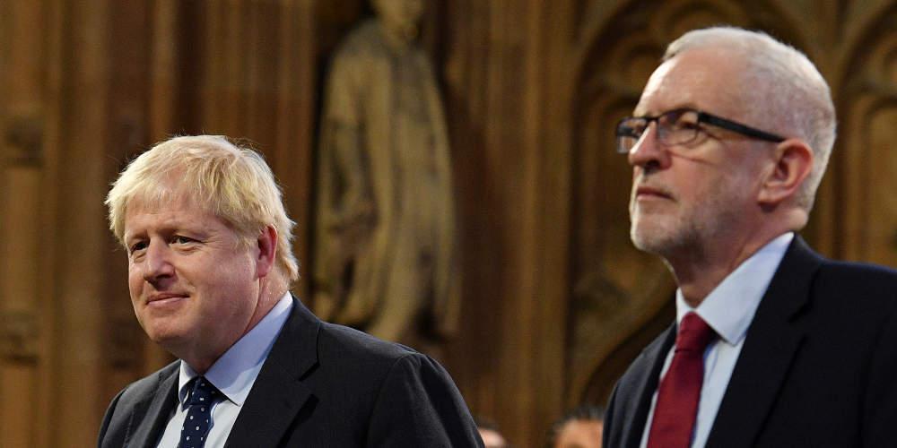 Προβάδισμα 10 μονάδων του Τζόνσον έναντι του Κόρμπιν δίνει νέα δημοσκόπηση στη Βρετανία