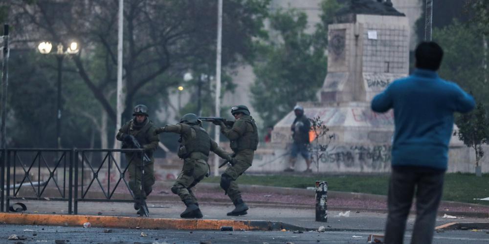 Έκκληση της κυβέρνησης στη Χιλή για τον τερματισμό της βίας