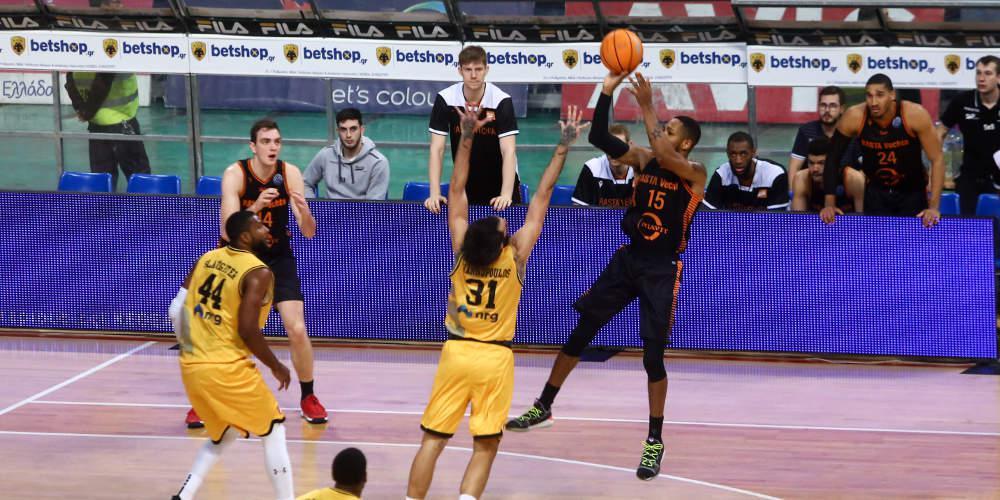 Basketball Champions League: Ήττα-σοκ για την ΑΕΚ από τη Ράστα Βέχτα στο ΟΑΚΑ