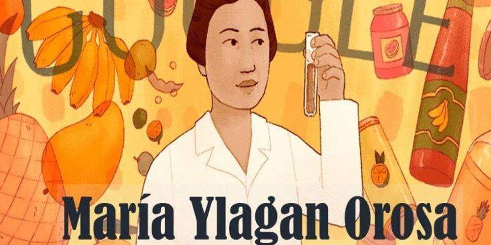 Στη Maria Ylagan Orosa είναι αφιερωμένο το σημερινό doodle της Google