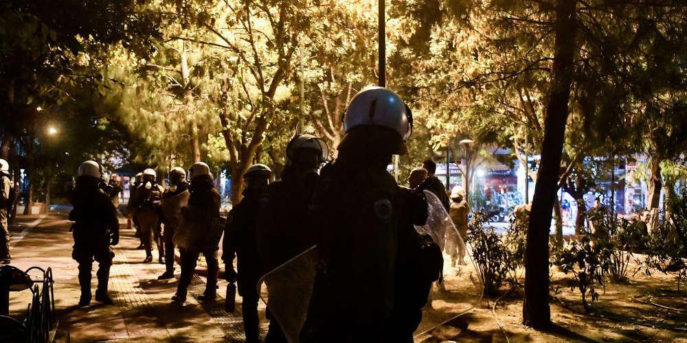 Εξάρχεια: Σύνδεση καταλήψεων, «ταράτσας» και επαναστατικής Αυτοάμυνας