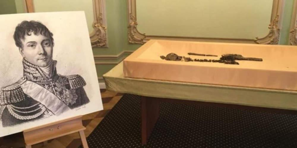 Βρέθηκε σκελετός στρατηγού του Ναπολέοντα κάτω από τα θεμέλια μιας σχολής χορού στη Ρωσία