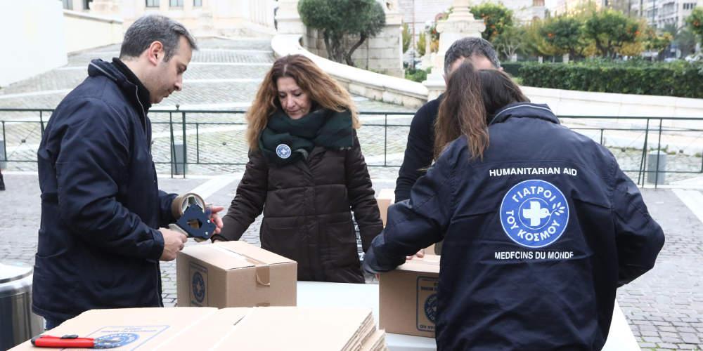 Κλιμάκιο των Γιατρών του Κόσμου από την Αθήνα μεταβαίνει στην Αλβανία για βοήθεια
