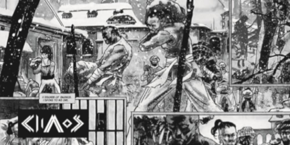 «Sons of chaos»: Η Επανάσταση του 1821 σε κόμικ [εικόνα]