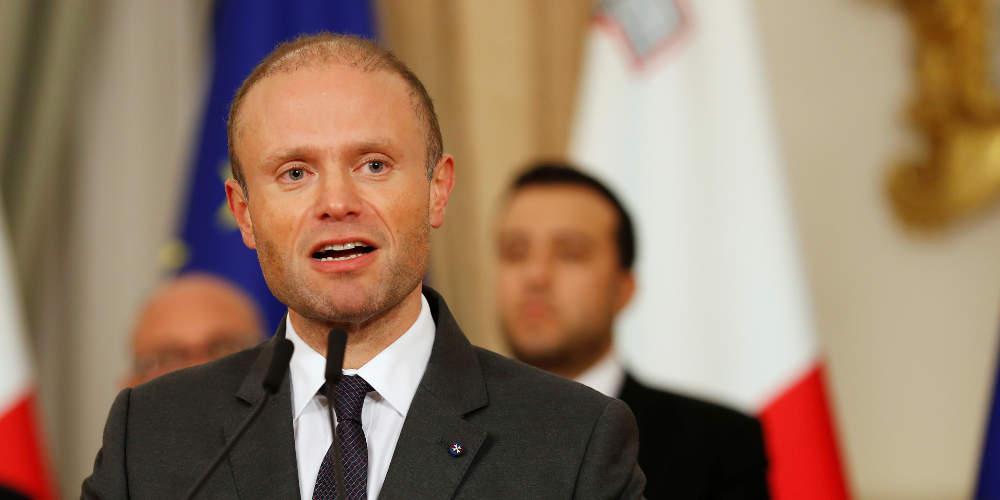 Παραιτείται ο πρωθυπουργός της Μάλτας στο φόντο της δολοφονίας δημοσιογράφου