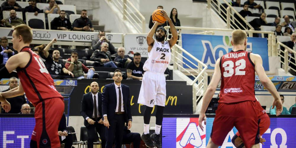 Basketball Champions League: Νίκη για ΠΑΟΚ με 93-78 επί της Σαραγόσα