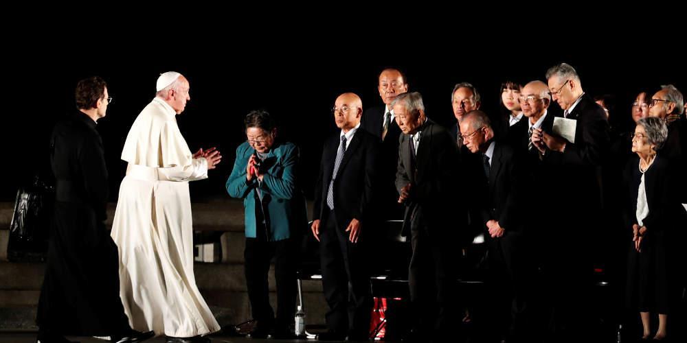 Επιζώντες της Χιροσίμα αφηγήθηκαν την «κόλαση» που έζησαν στον πάπα Φραγκίσκο