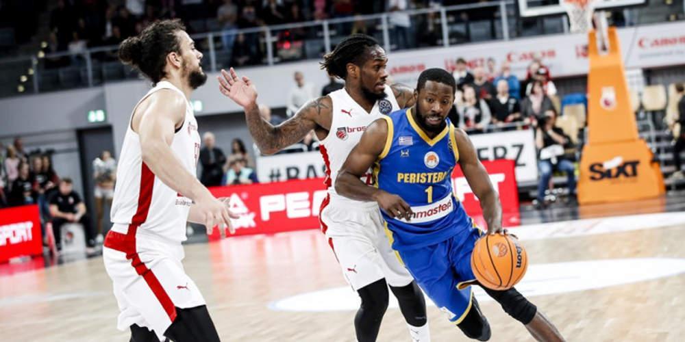 Basketball Champions League: Δεν κατάφερε το Περιστέρι κόντρα στη Μπάμπεργκ – ήττα με 72-69