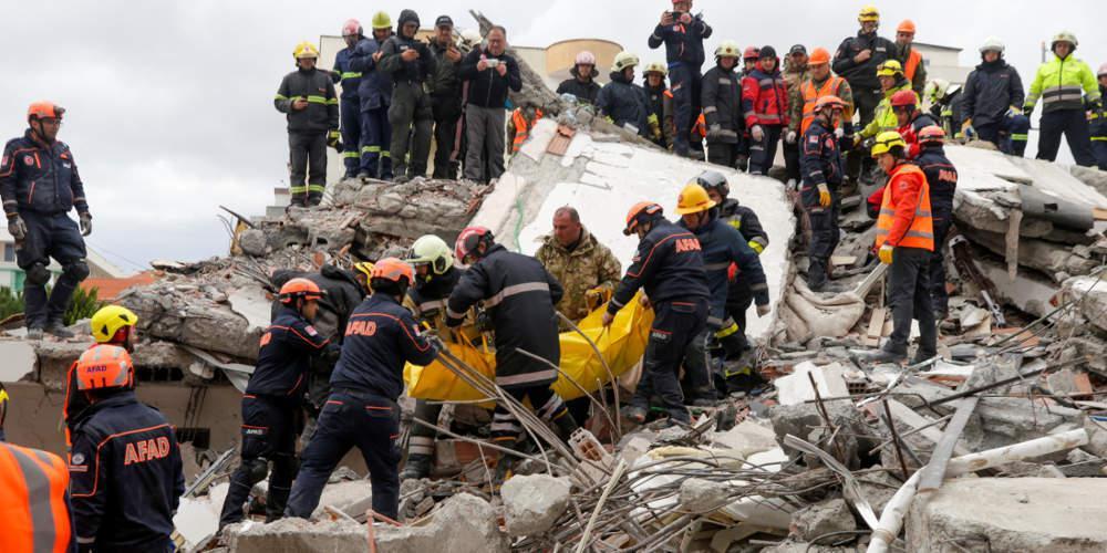 Σεισμός στην Αλβανία: Στους 50 νεκρούς έφτασε ο τραγικός απολογισμός