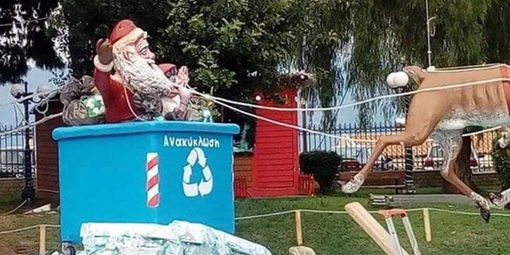 «Είναι... δαίμονες»: Σφαγή στο Αίγιο για τους καλικάντζαρους και τον Άγιο Βασίλη στον χριστουγεννιάτικο στολισμό