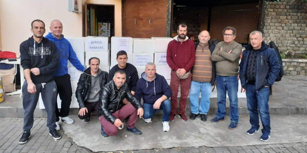 Ανθρωπιστική βοήθεια από τον Δήμο Καβάλας στους σεισμόπληκτους της Αλβανίας
