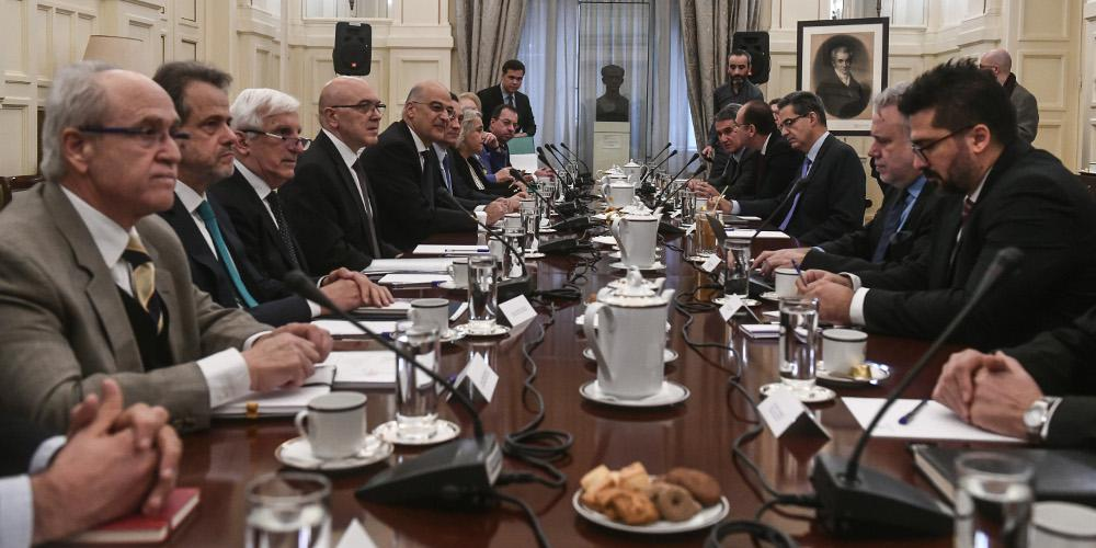 Δένδιας μετά τη συνεδρίαση του Εθνικού Συμβουλίου Εξωτερικής Πολιτικής: Διαπιστώθηκε εθνική σύμπνοια και ενότητα