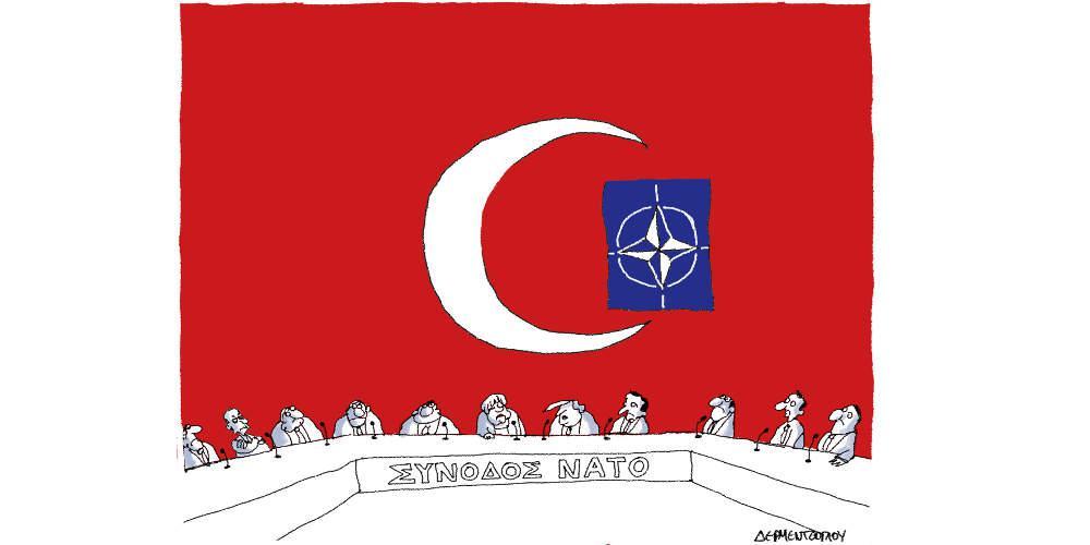 Η γελοιογραφία της ημέρας από τον Γιάννη Δερμεντζόγλου - Κυριακή 01 Δεκεμβρίου 2019