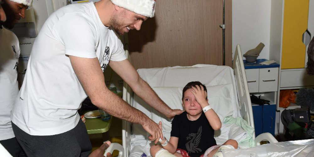 Συγκινητικό: Η έκπληξη των παικτών της Λίβερπουλ σε παιδιά που νοσηλεύονται [εικόνες & βίντεο]