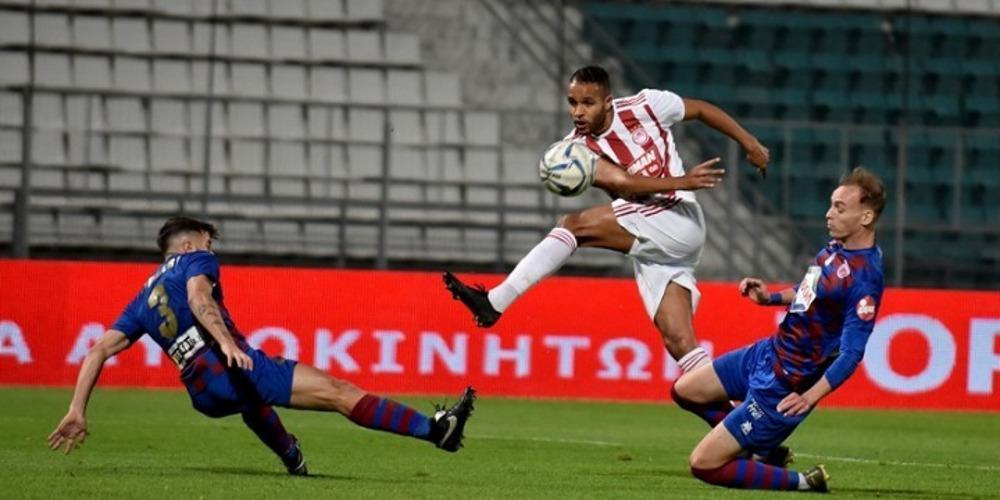 Super League 1: Μπλόκο του Ολυμπιακού στον Βόλο - Έξαλλοι για την διαιτησία οι «ερυθρόλευκοι»