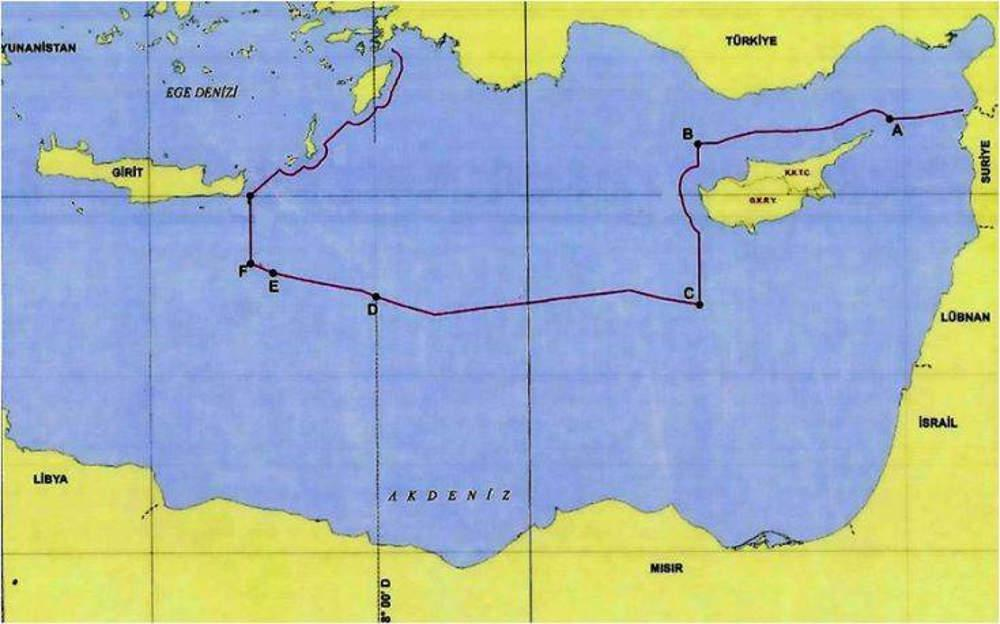 Πρωτοφανής πρόκληση της Τουρκίας: Τα ελληνικά νησιά και η Κύπρος δεν πρέπει να έχουν ΑΟΖ
