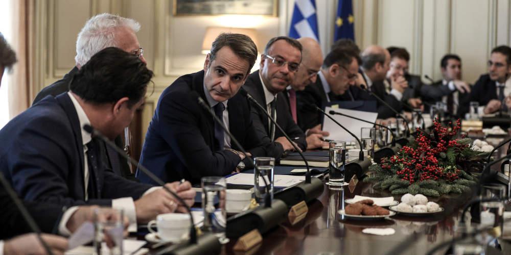 Κορωνοϊός: Συνεδριάζει την Τρίτη μέσω τηλεδιάσκεψης το υπουργικό συμβούλιο