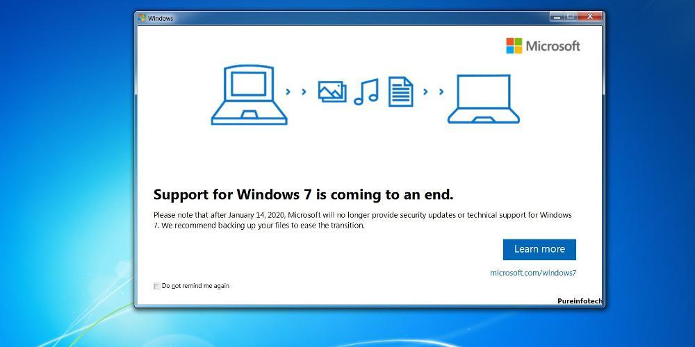 Windows 7: Η Microsoft σταματά από σήμερα την τεχνική υποστήριξη τους