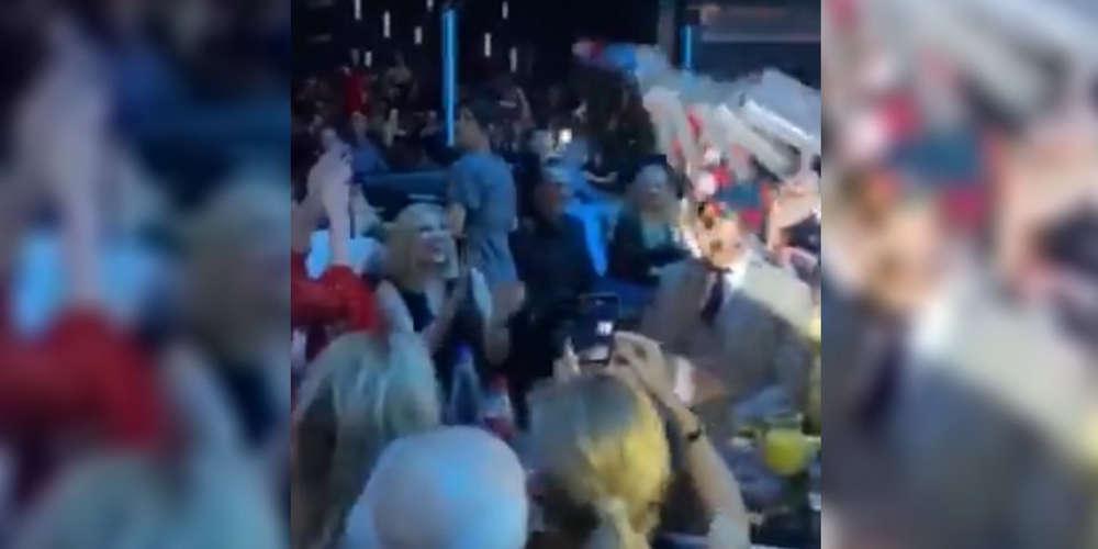 Η Φώφη Γεννηματά άκουσε Κιάμο και Μαζωνάκη το Σαββατόβραδο [βίντεο]