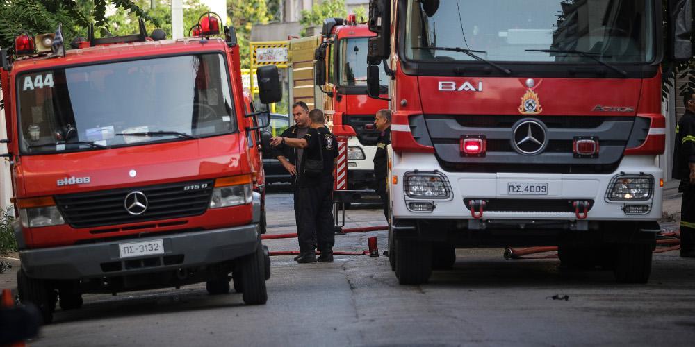 Συναγερμός στην Πυροσβεστική: Σε εξέλιξη φωτιά στον Ασπρόπυργο